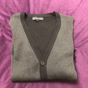 🤩SALE🤩 Men's sweater - gray+black in EUC